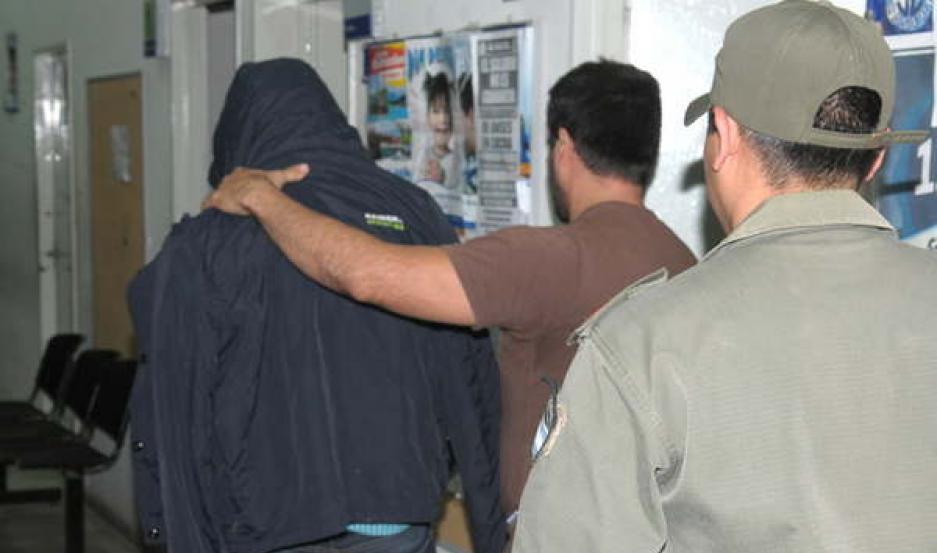 PROCEDIMIENTO. En agosto de 2015 detuvieron a César Cortés en la sede de Anses luego de recibir el dinero