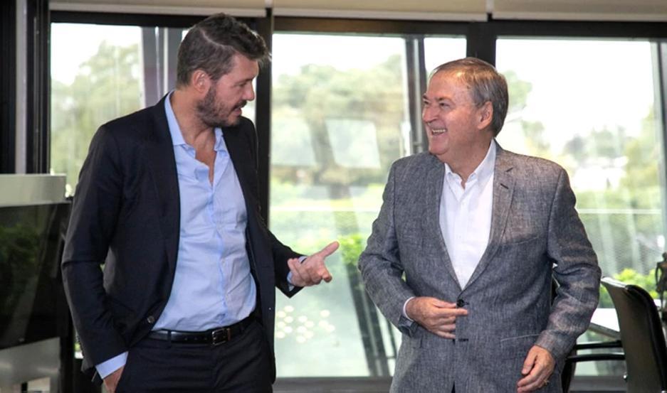Tinelli y Schiaretti ya se habían reunido días pasados en Córdoba.